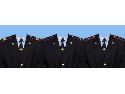 Фото на документы в Ессентуках. Замена одежды на форму Полиции Российской Федерации